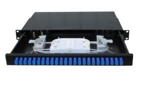 12 Port SC Singlemode Fully Loaded Enclosure
