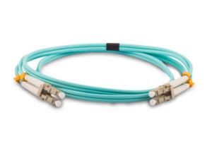 OM3 LC-LC DUPLEX PATCH LEAD