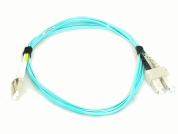 OM3 SC-SC DUPLEX PATCH LEAD