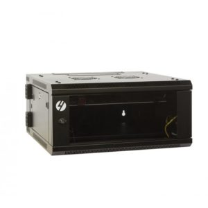 6RU 600mm Wide x 600mm Deep Hinged Wall Mount Server Rack