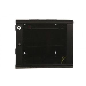 9RU 600mm Wide x 600mm Deep Hinged Wall Mount Server Rack