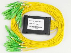 1×32 PLC Fibre Optic Splitter in ABS Box
