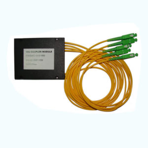 1×4 PLC Fibre Optic Splitter in ABS Box