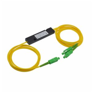 1x2 PLC Fibre Optic Splitter in ABS Box