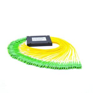 1×64 PLC Fibre Optic Splitter in ABS Box